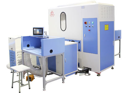 High Accuracy Automatic Down & Fiber Filling Machine SCR-2P-6G